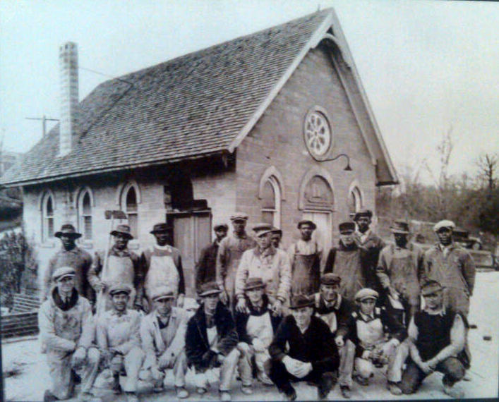 Original Chapel Construction in 1910 by Simpson Brothers Construction